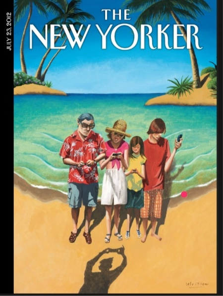 The Sophistication of the New Yorker . . . hmmm.