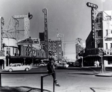 Downtown Las Vegas 1950s