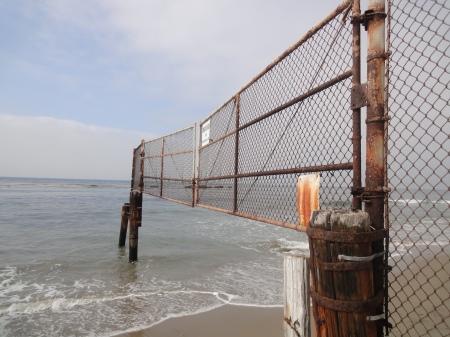 Malibu Beach gate